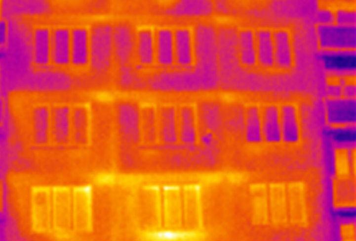 snímek z termokamery